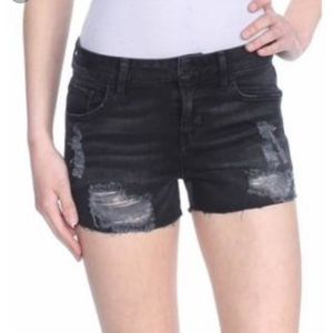 ⭐️Guess Black Distressed Cut Off Shorts⭐️Size 28
